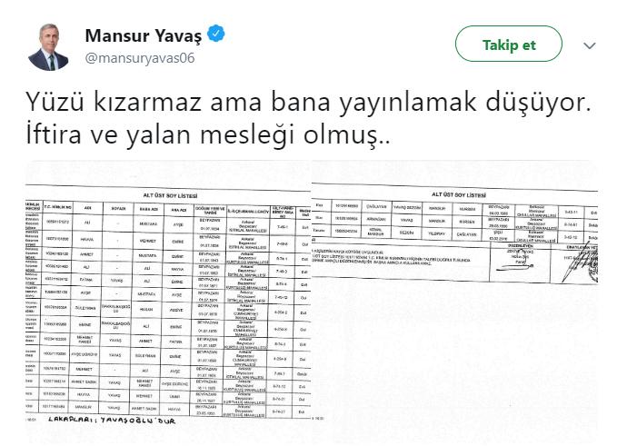 Ankarada Soy Ağacı Kavgası özhasekinin Soyadı Neden Değişti