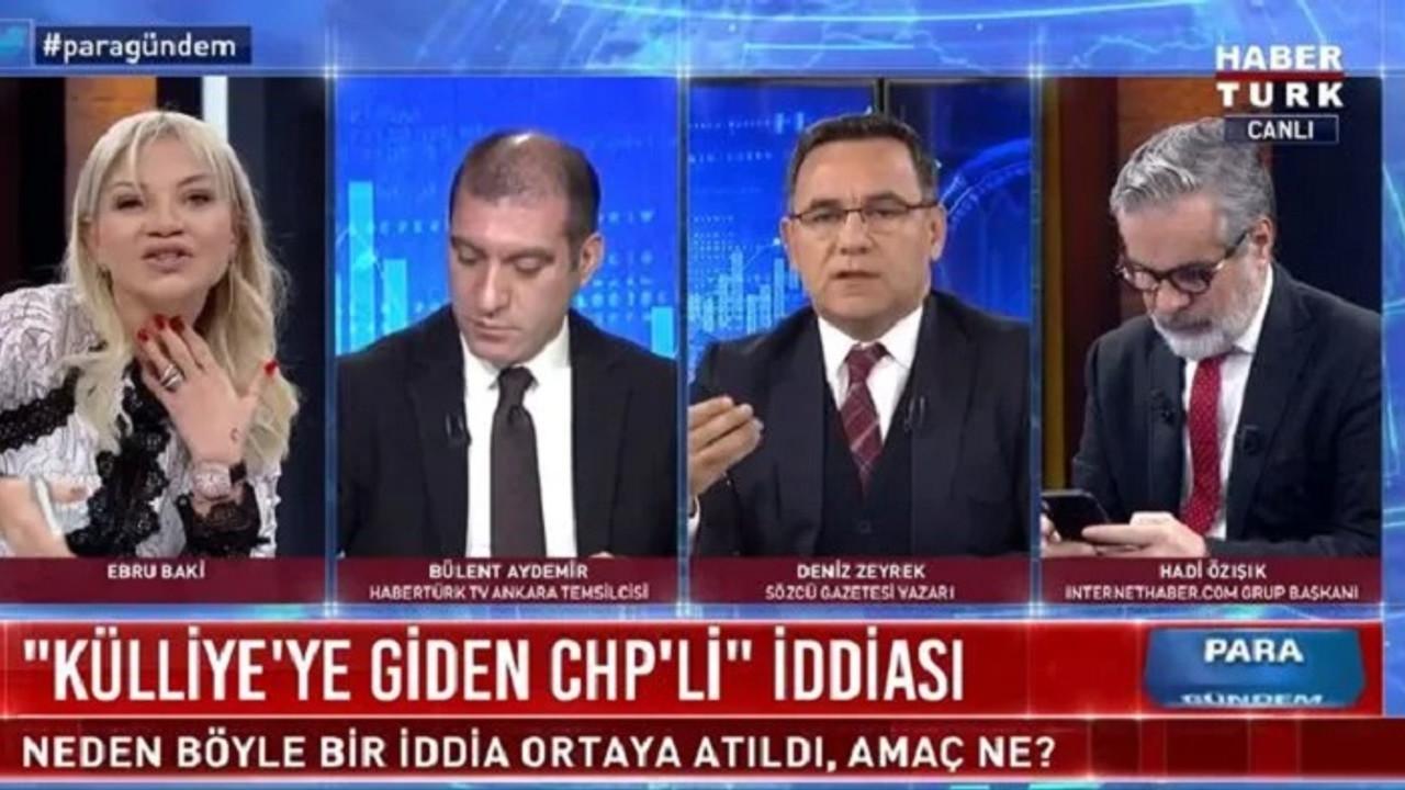 Habertürk'te Sözcü kavgası! Deniz Zeyrek yayını terk etti - Medyafaresi.com  Mobil