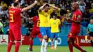 Brezilya'yı 2-1 ile geçen Belçika yarı finalde