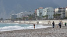Antalya'da ocak ayında deniz keyfi