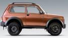 Yenilenen Lada 4x4'ün görüntüleri Rus basınında