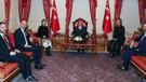Erdoğan, Demet Akalın ve Hande Yener ile bir araya geldi