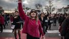 #LasTesis Türkiye: Kadınlar taciz ve cinayete karşı sokağa çıktı