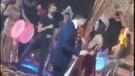 Mesut Özil ve Amine Gülşe Ankara'nın Bağları ile dans etti