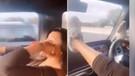 Riyad Mahrez'in eşinin trafikteki görüntüleri tepki çekti
