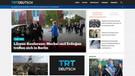 Almanca dijital haber platformu TRT Deutsch test yayınında