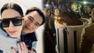 Fazıl Say'ın doğum günü pastasından eşi Ece Dağıstan maymun olarak çıktı