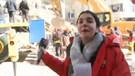 CNN Türk muhabiri Fulya Öztürk deprem bölgesinde gözyaşlarını tutamadı