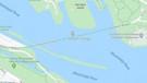Google Maps'i takip etti, donmuş nehre düştü