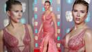 Scarlett Versace elbisesiyle büyüledi