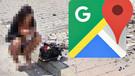 Google Haritalar'daki gizemli kadın ne yapıyor?