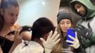 İran'da mahsur kalan oyuncu İlayda Akdoğan sevgilisini tıraş etti