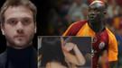 Galatasaraylı Diagne'den eşine: Sen aptal mısın