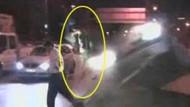 ŞOK!!! Kaza haberine giden kameramanlara araba çarptı! Show kameramanı havada takla attı!