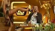 Canlı yayında şok!!! Almanya'nın ünlü tv yıldızı Sonya Kraus ne mi yaptı? VİDEO