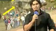 At koşar muhabir ezilir!!! Canlı yayında inanılmaz kaza!!! VİDEO