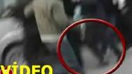 İşte o görüntü!!! Film çekimindeki kavgayı gerçek sanan vatandaş oyuncuyu nasıl bıçakladı? VİDEO