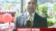 Ezanla selayı birbirine karıştıran NTV muhabiri canlı yayında özür diledi!!!