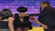 Canlı yayın kazası!!! seksi şarkıcı klimanın gazabına uğrarsa!!! VİDEO