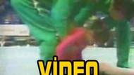 Jimnastikçi nasıl yere çakıldı? İşte o görüntü!!! VİDEO