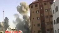 İşte İsrail'in Gazze'deki dehşeti! Böyle bombaladı!