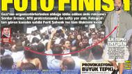 Ferit Şahenk, Serdar Erener'i NTV kapısında görünce..
