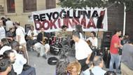 Asmalımescit'te masa sandalye protestosu!