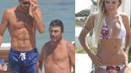 Rüştü ve Işıl'ın plaj keyfine Rıdvan da girdi!