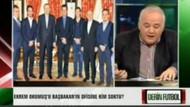Canlı yayında Başbakanın fotoğrafını yırttı!