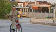 Ankara sokaklarında bisikletli bir bakan! Spor mu yapıyor?
