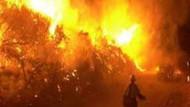 Marmaris'te korkutan yangın! Yerleşim birimlerine sıçrayabilir!