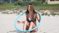 Audrina Patridge'den bikini şov!