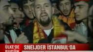 Fenerli muhabir Galatasaraylıların arasında kalırsa..