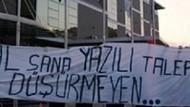 Al sana yazılı talep... Fenerbahçe taraftarından ilginç eylem!