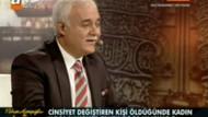 Nihat Hatipoğlu'nu zorlayan travesti sorusu!