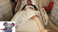 NTV Spor kameramanı Hollanda'da ayağını kırdı!