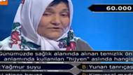 Milyoner'deki pazarcı Ümmüye Teyze Twitter'i salladı!