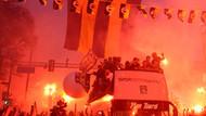 Kadıköy alev alev yanıyor! Fener şampiyonluk turunda!