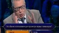 Jirinovskiy, Kim Milyoner Olmak İster'e katıldı!