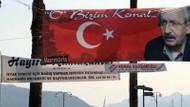 Kılıçdaroğlu'nun bayraklı afişi tartışma yarattı! Neden mi?