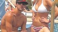 Milli yüzücü Michael Phelps, Miss California sevgilisiyle tatilde!
