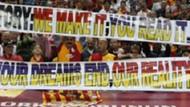 Galatasaraylı taraftarlardan Fenerbahçe'ye sert gönderme!