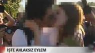 Beyaz Tv'den görülmemiş öpüşme sansürü!