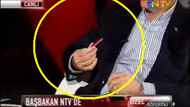 Başbakan Erdoğan canlı yayında çakısını gösterdi!