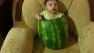 Karpuz bebek Youtube'u sallıyor! İşte o tık rekoru kıran klip!