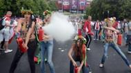 Femen kızları Euro 2012'ye protestoyla başladı!