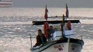 Patriotları taşıyan gemi İskenderun'da!
