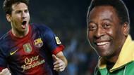Messi, Pele'yi geçti!
