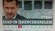Esad'la röportajdan korkan Hürriyet'in ilginç haberi!