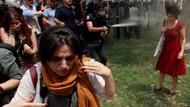 Gezi'deki kırmızılı kadın İtalyanlara ilham oldu!